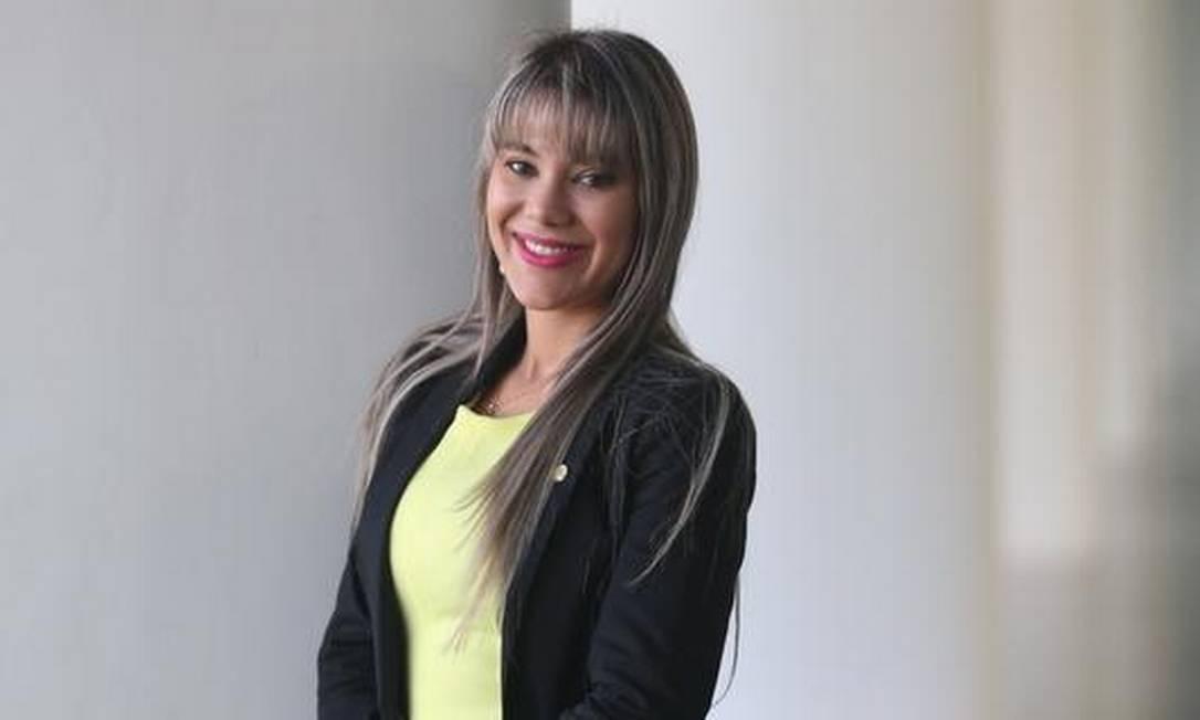 Deputada Brunny do PTC de Minas Gerais André Coelho / Agência O Globo