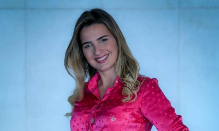 Deputada Clarissa Garotinho do PR do Rio Foto: André Coelho / O Globo