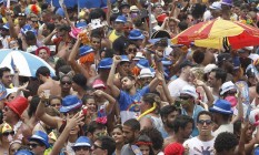 RI - Rio de Janeiro (RJ) 15/02/2015 Bloco do Bangalafumenga no aterro do Flamengo. Fotos: Pedro Teixeira/ O Globo Foto: Pedro Teixeira / Agência O Globo