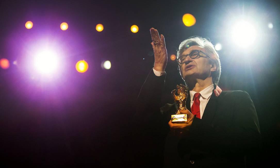 O diretor Wim Wenders Foto: HANNIBAL HANSCHKE / REUTERS