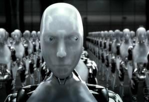 Cena do filme 'Eu, robô': para especialista, inteligência artificial não é vilã Foto: Divulgação