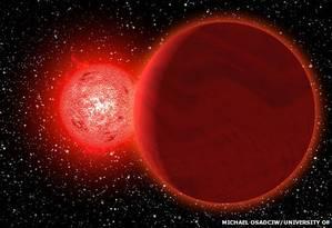 Estrela passou por nosso sistema há 70 mil anos Foto: Michael Osadciw/University of Rochester