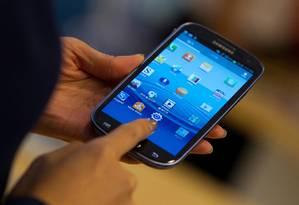 Malware já infectou cerca de 10 mil aparelhos Android, sobretudo na China Foto: Bloomberg