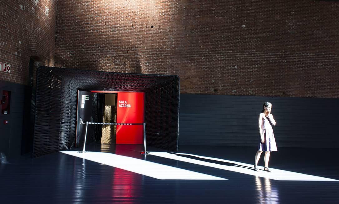 Centro de Criação Contemporânea Matadero Madri, espécie de laboratório interdisciplinar: tentativa de incentivo cultural Foto: NYT / Carlos Lujan