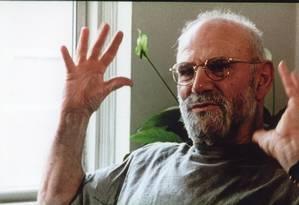 Oliver Sacks morreu em sua casa em Nova York Foto: Walter Carvalho