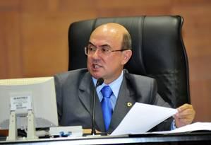 Ex-deputado José Riva é acusado de desvio de dinheiro público quando presidiu a Assembleia Legislativa de Mato Grosso Foto: Divulgação 01/02/2011