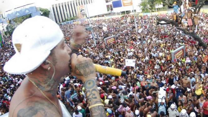 O cantor de pagode Anderson Machado de Jesus, conhecido como Igor Kannário Foto: Divulgação