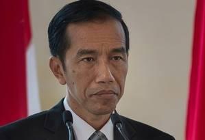 Presidente da Indonésia, Joko Widodo Foto: AFP