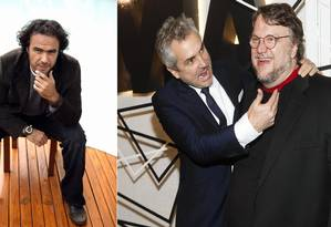 Iñarritú, Cuarón e Del Toro Foto: Leonardo Aversa / Leonardo Aversa/Andy Kropa