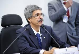 Escolha de Luiz Sérgio foi fruto de acordo entre PT e PMDB Foto: Gustavo Lima/Agência Câmara/26-2-2014