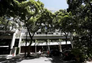 Fachada do prédio na Rua Nascimento Silva, em Ipanema, onde o Nestor Cerveró morou durante cinco anos Foto: Marcos Tristão / Agência O Globo