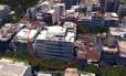 Vista aérea da cobertura onde Nestor Cerveró morou, na Rua Nascimento Silva, em Ipanema