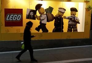 Loja da Lego em Lima: vendas e lucro em alta em 2014 Foto: MARIANA BAZO / REUTERS