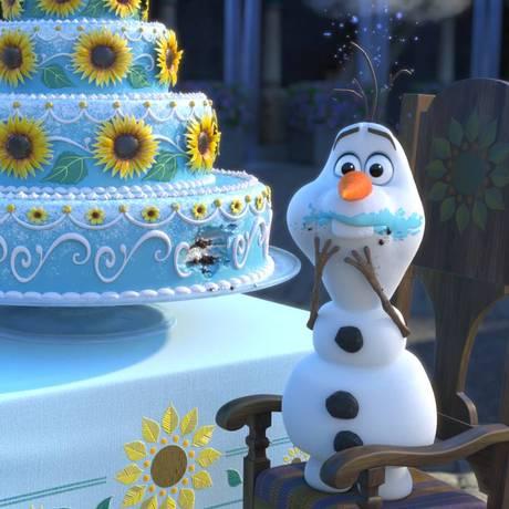 Cena de 'Frozen: febre congelante' Foto: Divulgação