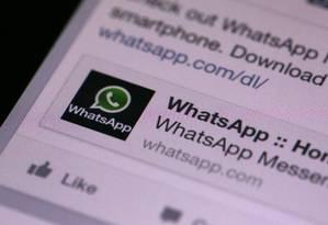 Operadoras de telefonia recorreram da decisão para tentar manter o aplicativo no ar Foto: Chris Ratcliffe / Bloomberg