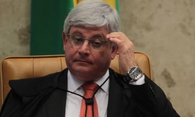 O procurador-geral da República, Rodrigo Janot Foto: Givaldo Barbosa/20-2-2014 / Agência O Globo