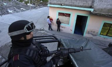 Relatório aponta participação do Exército em práticas de tortura Foto: DANIEL BECERRIL / REUTERS