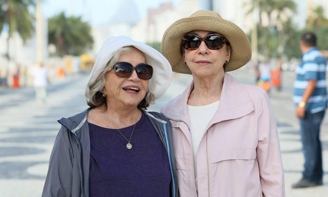 Nathália Timberg e Fernanda Montenegro em cena de 'Babilônia' Foto: Divulgação/ TV Globo