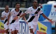 Rodrigo comemora gol marcou pelo Vasco contra o Bangu em São Januário