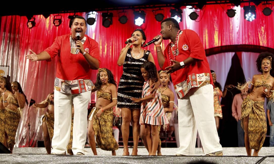 O melhor samba-enredo da série A foi para Renascer de Jacarepaguá. Foto: Fabio Rossi / Agência O Globo