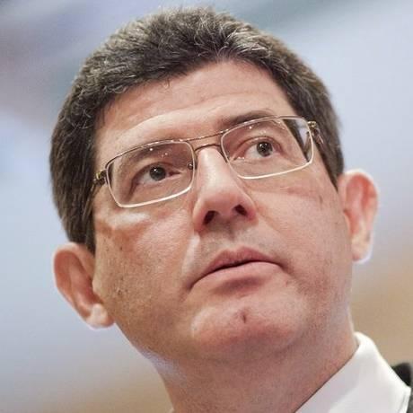 Escorregão. Joaquim Levy chamou desoneração do governo de grosseira Foto: Thomas Lee / Thomas Lee/arquivo