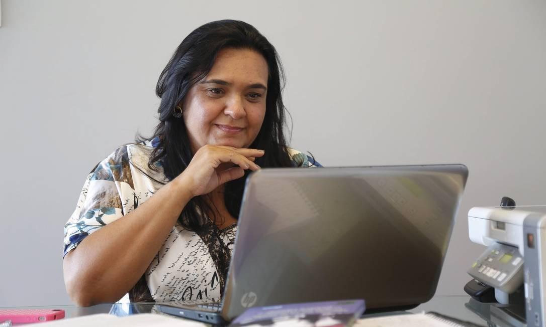 Falta treinamento. A consultora de varejo Beatriz de Mendonça diz que empresas treinam pouco, o que provoca aumento da rotatividade Foto: Ana Branco / Ana Branco
