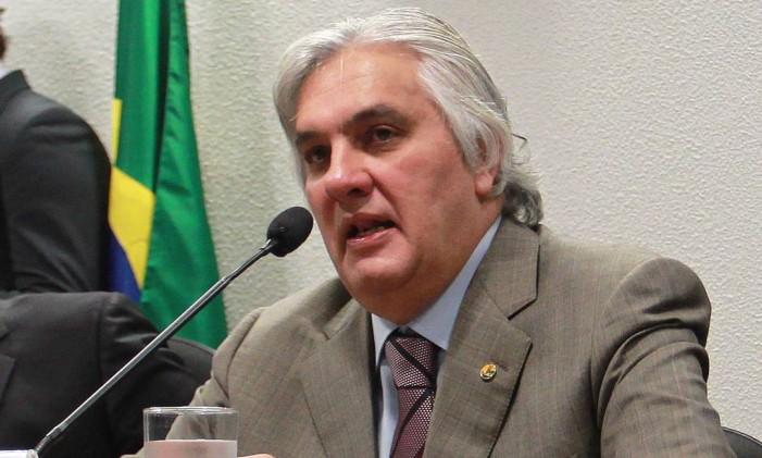 O senador Delcídio Amaral Foto: Ailton de Freitas / Agência O Globo