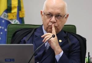O ministro do STF, Teori Zavascki Foto: André Coelho/10-02-2015 / Agência O Globo