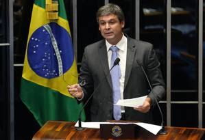 O senador Lindbergh Farias (PT-RJ) Foto: Ailton de Freitas / Agência O Globo