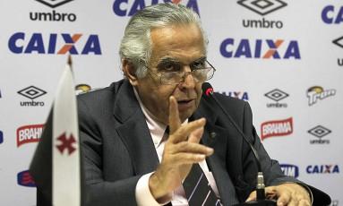 O presidente do Vasco, Eurico Miranda, em foto de arquivo Foto: MarceloSadio / Vasco da Gama