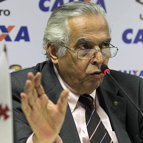 Eurico Miranda, presidente do Vasco, em foto de arquivo Foto: MarceloSadio / Vasco da Gama