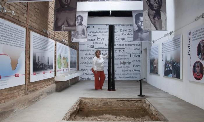 Casa funciona como centro cultural para o resgate da história da cultura africana Foto: Paula Huven / Agência O Globo