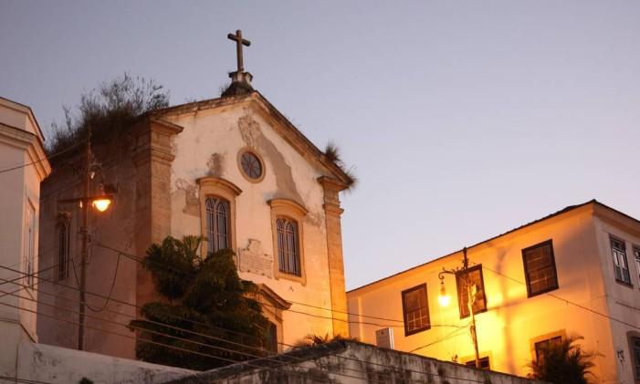 Igreja é parte da história de ocupação da cidade do Rio de Janeiro Foto: Ângelo Antônio Duarte / Agência O Globo