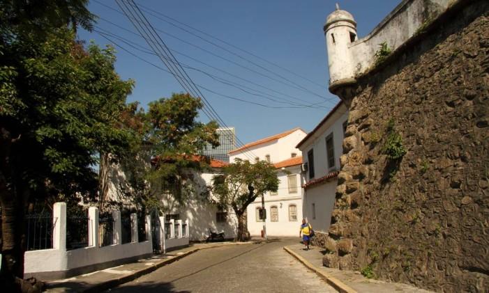 Hoje, a fortaleza é sede do Serviço Geográfico do Exército Foto: Bia Guedes:Bianca Guedes / Agência O Globo