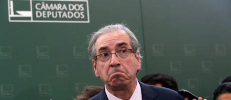 O presidente da Câmara, Eduardo Cunha (PMDB-RJ) Foto: Ailton de Freitas / O Globo