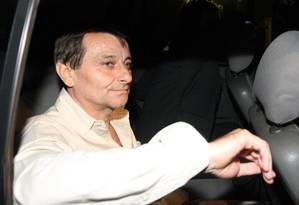 Ex-ativista. O italiano Cesare Battisti quando deixava o Complexo Penitenciária da Papuda, em Brasília Foto: Givaldo Barbosa 08/06/2011 / Agência O Globo