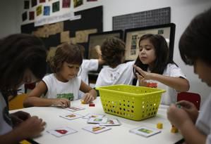 Cérebro de crianças de 7 a 10 anos são vulneráveis à poluição, diz estudo Foto: Paula Giolito / Arquivo- Agência O Globo