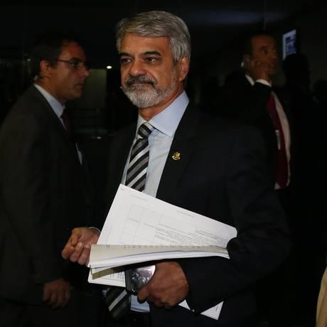 O senador Humberto Costa, líder do PT na Casa Foto: Ailton de Freitas
