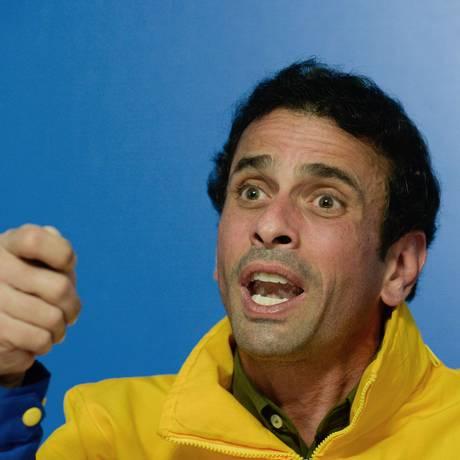 Capriles afirma que pleitos são a instituição que pode derrubar Maduro Foto: FEDERICO PARRA / AFP