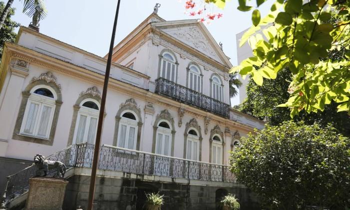 Museu pertence à Fundação Casa de Rui Barbosa Foto: Camilla Maia / Agência O Globo