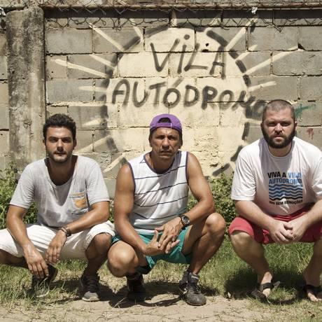 Idealizadores. Thiago Zunto (à esquerda), Luiz Claudio da Silva e Dudu Ribeiro: iniciativa nasceu há três anos Foto: Guilherme Leporace