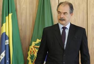 O ministro chefe da Casa Civil, Aloizio Mercadante Foto: Jorge William / Agência O Globo