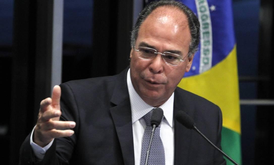 Fernando Bezerra Coelho (MDB-PE) Foto: Givaldo Barbosa / Agência O Globo/ 06-03-2015