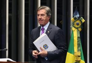 O Senador Fernando Collor (PTB-AL) Foto: Ailton de Freitas / Agência O Globo