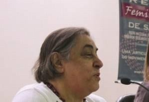 Clair Castilhos (à esq.), secretária-executiva da Rede Nacional Feminista de Saúde Foto: Alesc / Divulgação