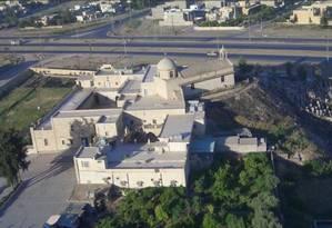 A Igreja de São Jorge (Markoukas) e o seminário: alvo do Estado Islâmico Foto: Reprodução Wikimapia