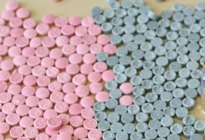 Comprimidos de ecstasy Foto: Letícia Pontual