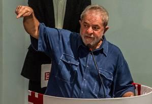 O ex-presidente Lula Foto: Carla Carniel/06-03-2015