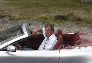 Jeremy Clarkson: apresentador do programa Top Gear se envolve em mais uma polêmica Foto: ANA POENARIU / AFP
