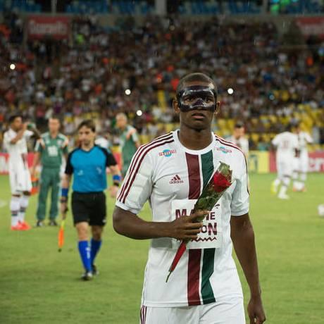 O zagueiro Marlon foi convocado para o Mundial sub-20 Foto: Bruno Haddad / Fluminense F.C.